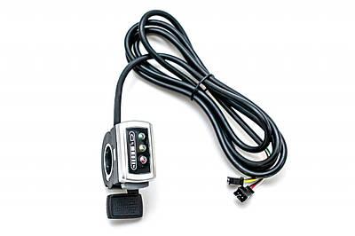 Ручка газа правая GP 106DX, c индикацией заряда, 36В GSHR-000