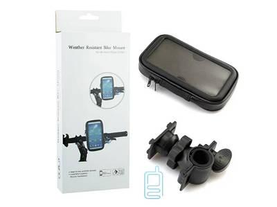 Держатель для телефона велосипедный L- 5,5 черный