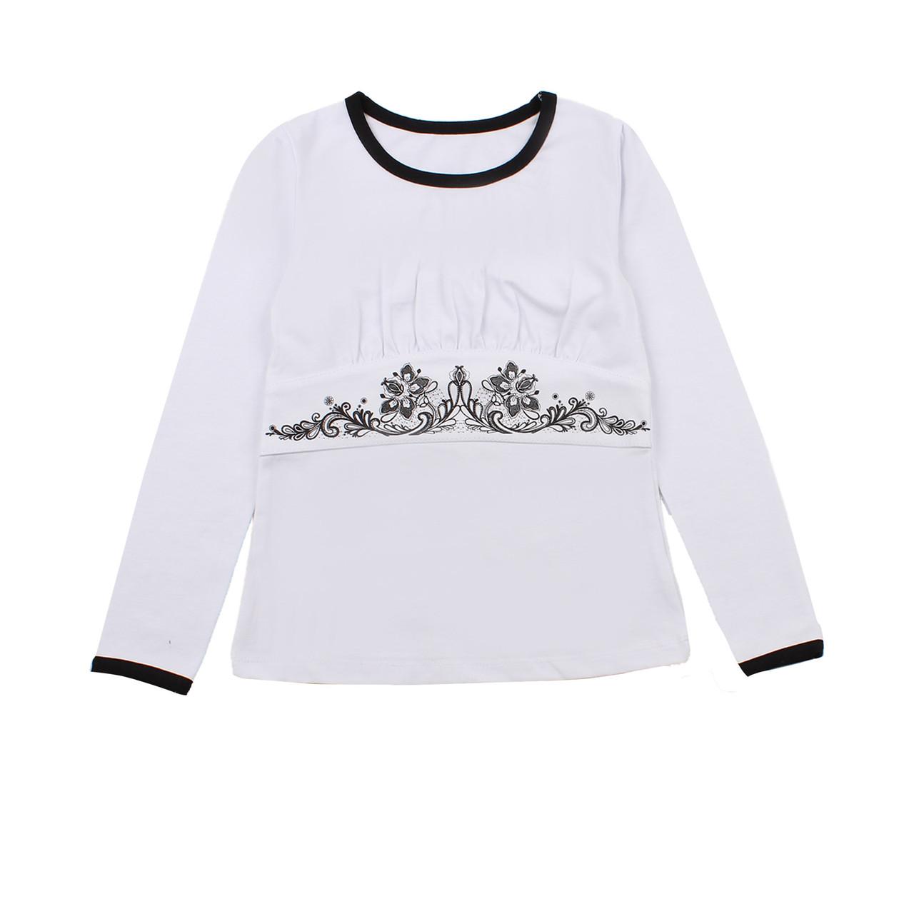 Блузка для дівчат Фламінго