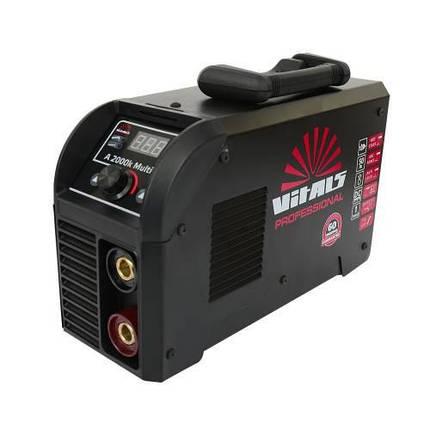 Сварочный аппарат инвертор Vitals Professional A 2000k Multi Pro, фото 2
