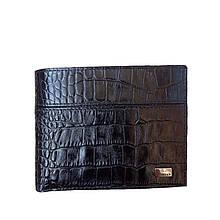 Мужское портмоне кошелёк черный 092ВА