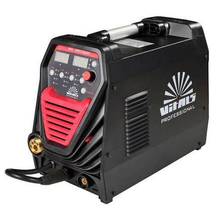 Зварювальний апарат Vitals Professional MIG 2000 Digital, фото 2