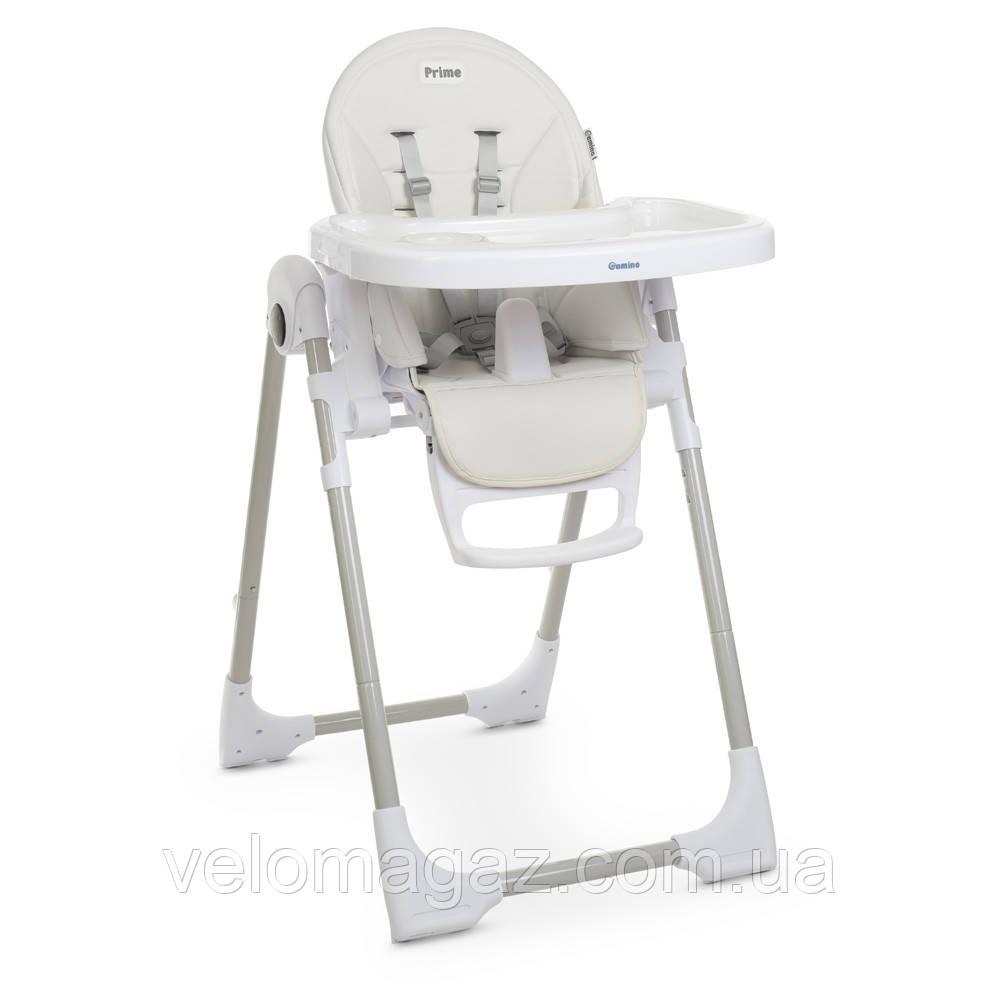 Детский cтульчик-трансформер для кормления ME 1038 PRIME WHITE