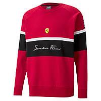 Мужская толстовка Puma Scuderia Ferrari XTG Crew(Артикул:59981602)