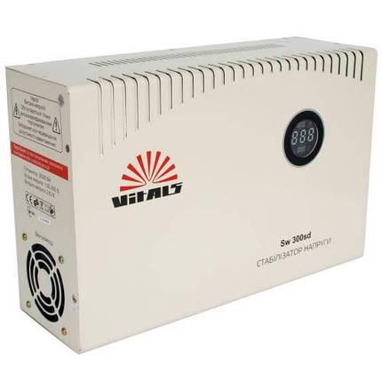 Сетевой стабилизатор фильтр напряжения Vitals Sw 300sd, фото 2
