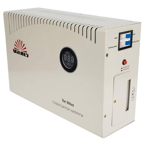 Сетевой стабилизатор фильтр напряжения Vitals Sw 300sd