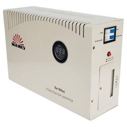 Сетевой стабилизатор фильтр напряжения Vitals Sw 500sd, фото 2