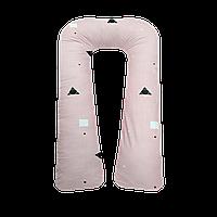Подушка для вагітних та годування U для сну та відпочинку 130см