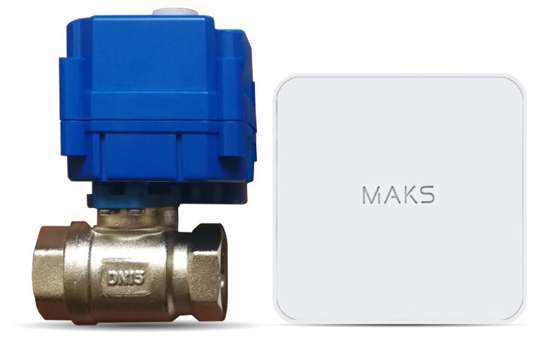 Безпроводной кран перекрытия воды  MAKS Valve