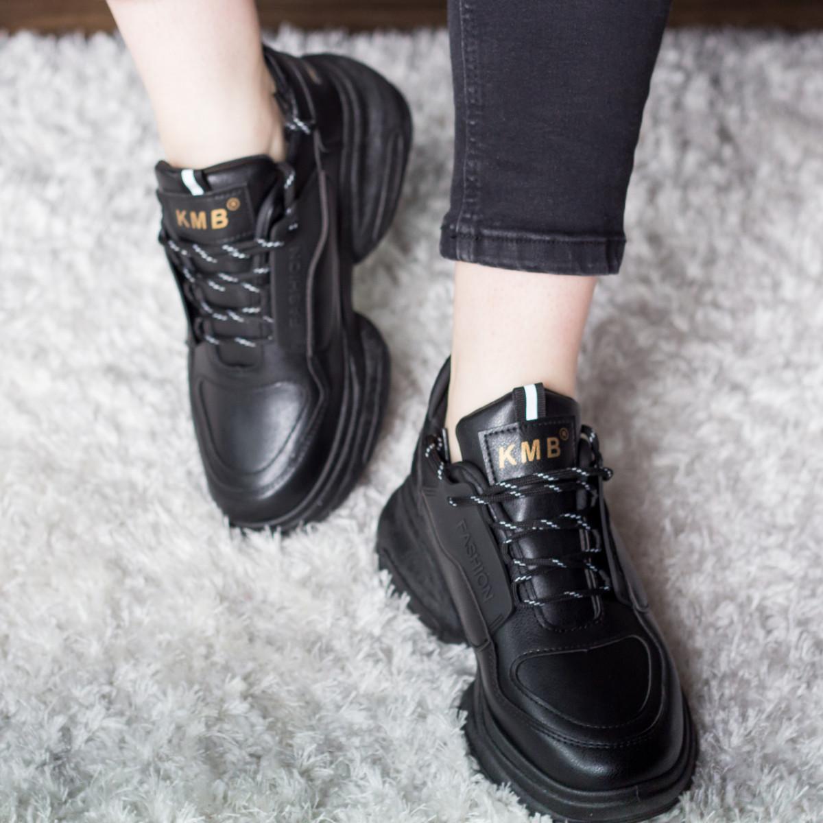 Кросівки жіночі Fashion Qana 2702 36 розмір 23 см Чорний