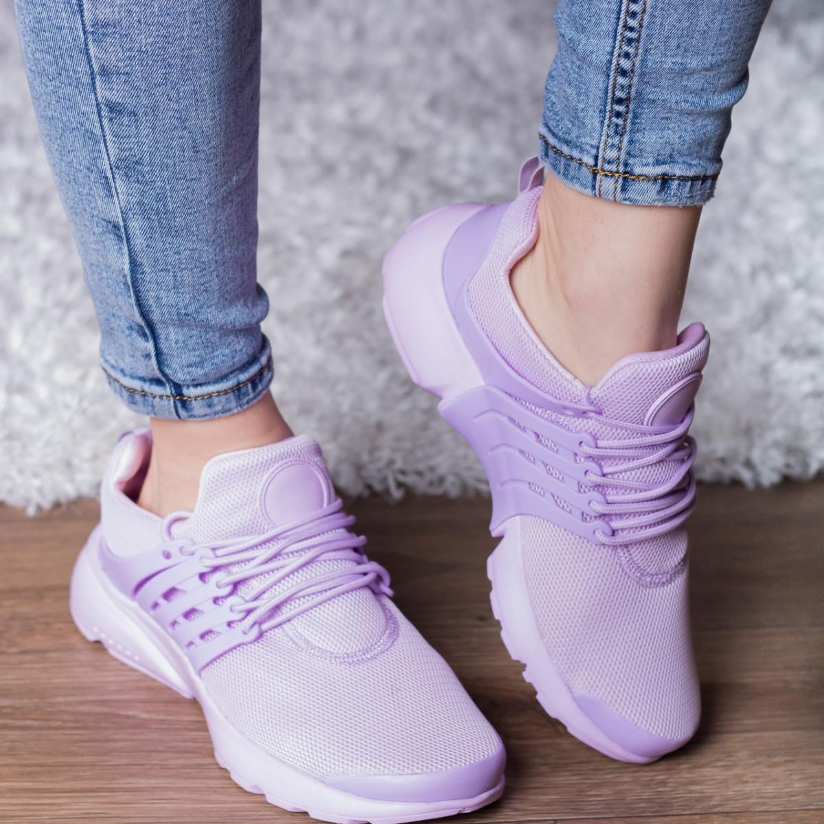 Кроссовки женские Fashion Qaylie 2700 41 размер 26 см Фиолетовый