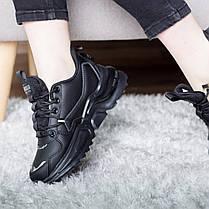 Кросівки жіночі Fashion Querida 2695 36 розмір, 23,5 см Чорний 38, фото 3