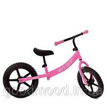 Біговел дитячий PROFI KIDS 14 д. М 5467-4 колеса EVA, пласт. обід, рожевий.