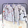 Стильная светоотражащая куртка женская 42-48 (в расцветках), фото 2