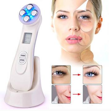 Аппарат косметологический многофункциональный: Миостимуляция EMS, электропорация, мезопорация, RF, LED