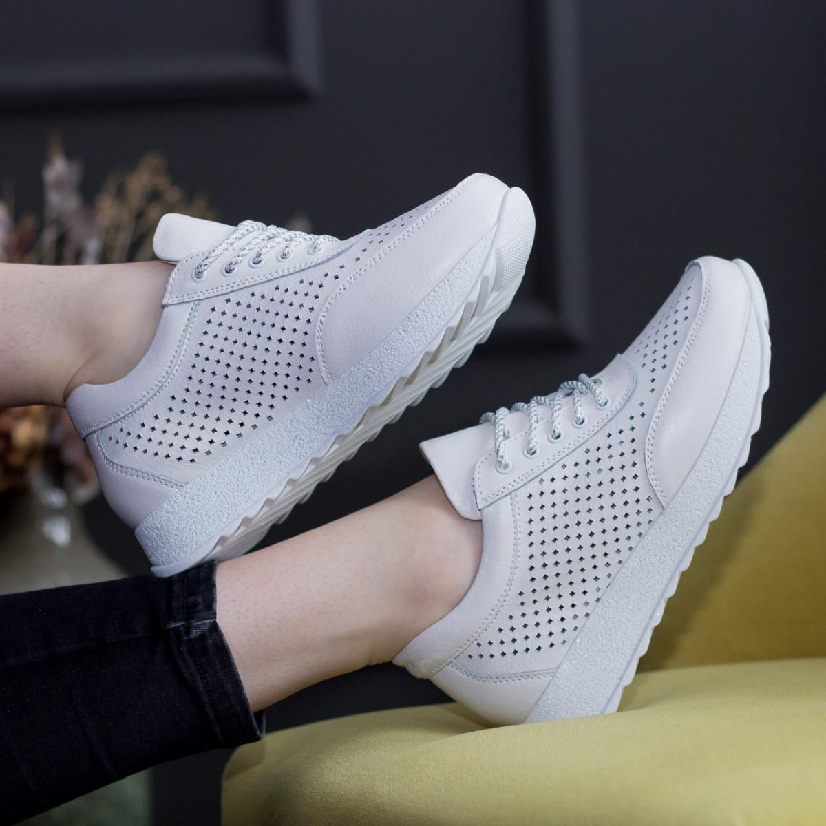 Кросівки жіночі Fashion Xiao 2671 39 розмір 24,5 см Білий