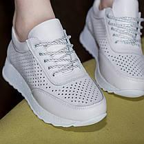 Кросівки жіночі Fashion Xiao 2671 39 розмір 24,5 см Білий, фото 3