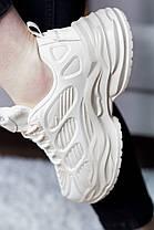 Кроссовки женские Fashion Xtra 2669 38 размер 24 см Бежевый, фото 3