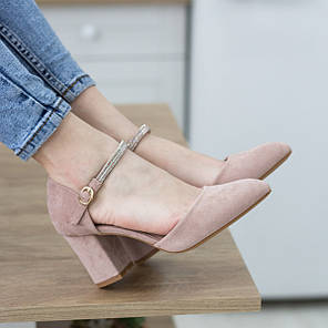 Туфли женские Fashion Ababa 2724 37 размер 24 см Бежевый, фото 2