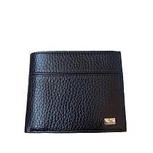 Мужское портмоне кошелёк черный 093ВА