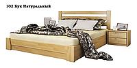 Ліжко дерев'яне з підйомним механізмом Селена МАСИВ / фабрика Естелла, фото 1