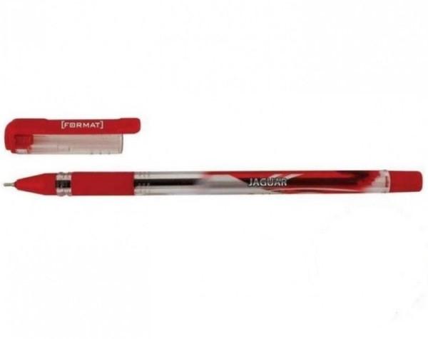 Ручка масляна FORMAT JAGUAR 0,7 мм, пише синім (F17149-02)