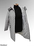"""Жіноча демісезонна куртка-плащ великих розмірів ArDi """"Лариса"""", фото 2"""
