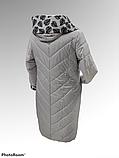 """Жіноча демісезонна куртка-плащ великих розмірів ArDi """"Лариса"""", фото 5"""