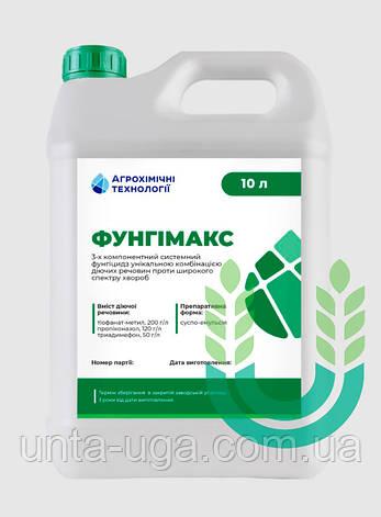 Фунгимакс трехкомпонентный системный фунгицид для первой обработки зерновых, фото 2