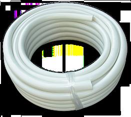 Шланг игелитовый білий, GUTTASYN WHITE, 25 х 3мм, IGB25*3