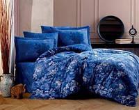 Постільна білизна євро Hobby сатин синій 200х220 S154483
