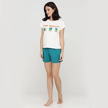 "Піжама футболка з шортами ""Flamingo-rose"" 46-54"