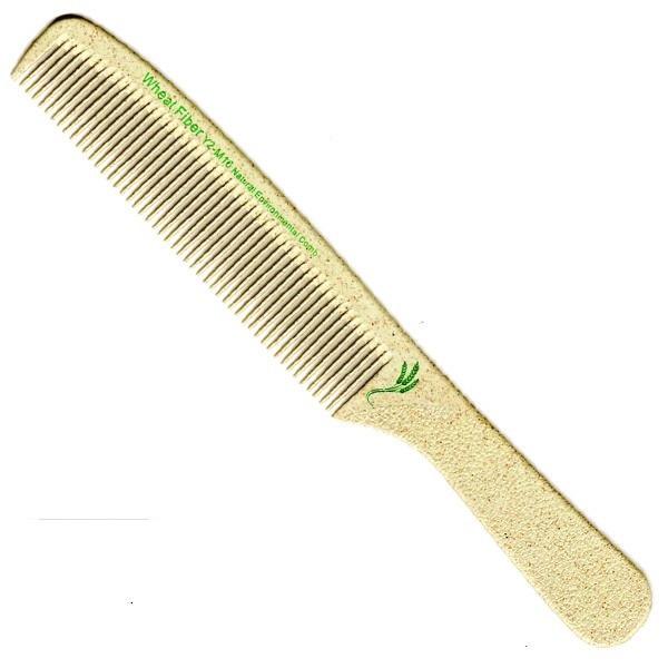 Гребінець з ручкою 19,5 см Wheat Fiber (Y2-M16)
