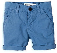 Детские синие шорты для мальчика  4-5 лет, Minoti, 104-110 см