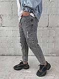 Сірі джинси МОМ, фото 3