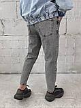 Сірі джинси МОМ, фото 6