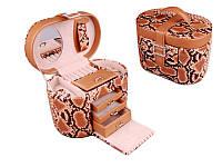 Шкатулка для украшений Lefard 20х13х14 см 362-072