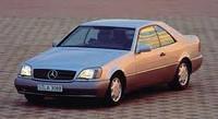 Лобовое стекло на MERCEDES W140 купе