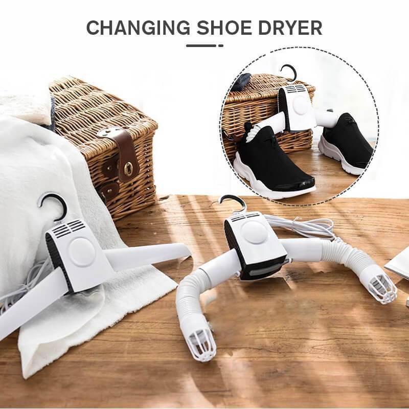 Електрическая сушилка для одежды и обуви.
