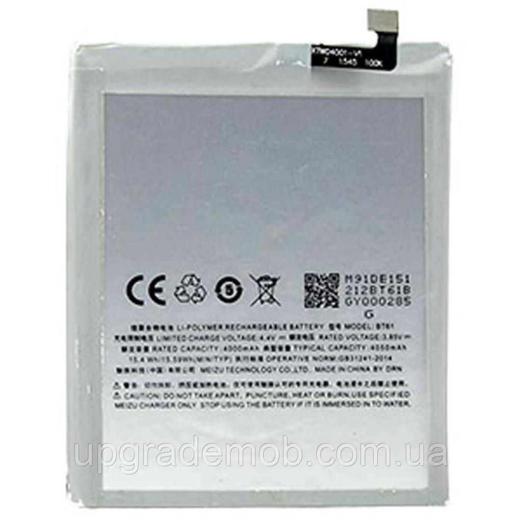 Аккумулятор акб батарея BT61 Meizu M3 Note M681H 4000 mAh