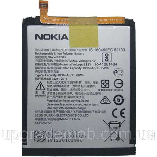 Аккумулятор акб батарея HE345 Nokia 6.1 Dual Sim TA-1043/TA-1050 3060 mAh