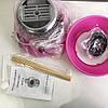 Комплект: Миксер для сливок-капучинатор FUKE Mini Creamer + Аппарат для сладкой ваты Cotton Candy Maker, фото 4