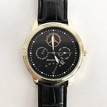 Комплект: мужское портмоне Baellerry Denim S1514 + часы наручные Emporio Armani Black ремешок черный, фото 2