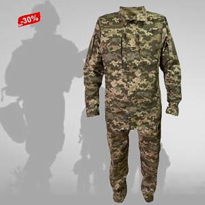 Форма военная Пиксель Костюм военный ВСУ на Молнии (46-60) Летний военно полевая одежда
