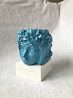Попільниця ручної роботи Діва (Синій), фото 1