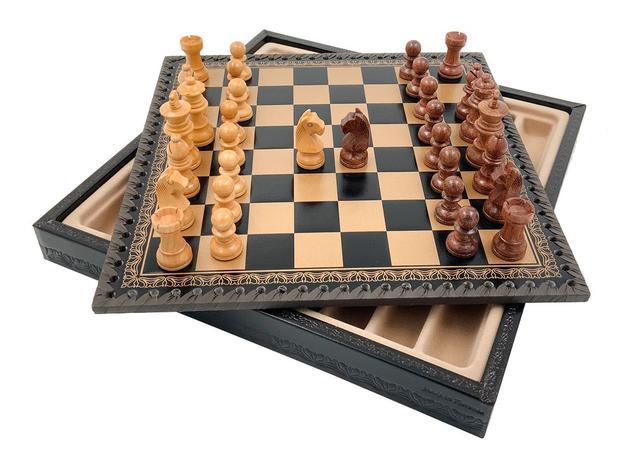 Коллекция фигур Palissandro. Итальянские шахматы Italfama