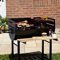 Гриль 3 яруса The Twin Grill Wagon Barbecue