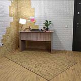 Підлога пазл, м'яке модульне підлогове покриття Бурштинове дерево, упаковка - 4 блоки, фото 5