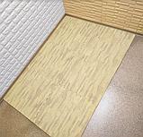 Підлога пазл, м'яке модульне підлогове покриття Бурштинове дерево, упаковка - 4 блоки, фото 4