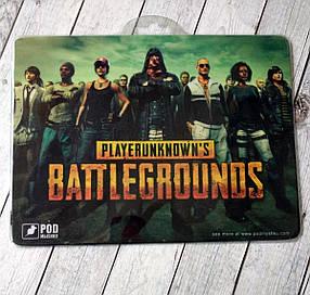 Коврик для мыши Podmyshku Battlegrounds для игровой мыши, ткань, размер S